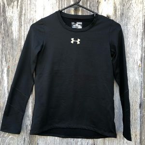 Girls Under Armour Cold Gear Tee